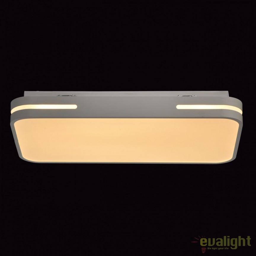 Plafoniera LED dimabila cu telecomanda Gina 674012901 MW, PROMOTII, Corpuri de iluminat, lustre, aplice, veioze, lampadare, plafoniere. Mobilier si decoratiuni, oglinzi, scaune, fotolii. Oferte speciale iluminat interior si exterior. Livram in toata tara.  a