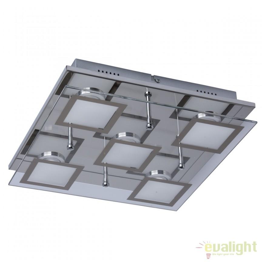 Plafoniera LED moderna Grafity I 678010405 MW, Plafoniere LED, Spoturi LED, Corpuri de iluminat, lustre, aplice, veioze, lampadare, plafoniere. Mobilier si decoratiuni, oglinzi, scaune, fotolii. Oferte speciale iluminat interior si exterior. Livram in toata tara.  a