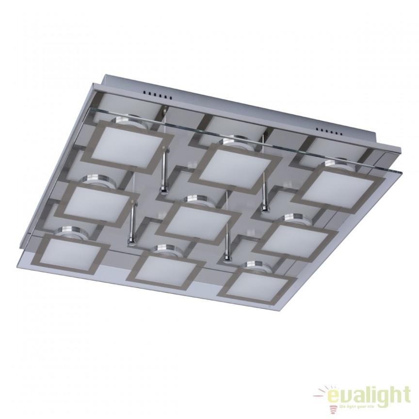 Plafoniera LED moderna Grafity II 678010509 MW, Plafoniere LED, Spoturi LED, Corpuri de iluminat, lustre, aplice, veioze, lampadare, plafoniere. Mobilier si decoratiuni, oglinzi, scaune, fotolii. Oferte speciale iluminat interior si exterior. Livram in toata tara.  a