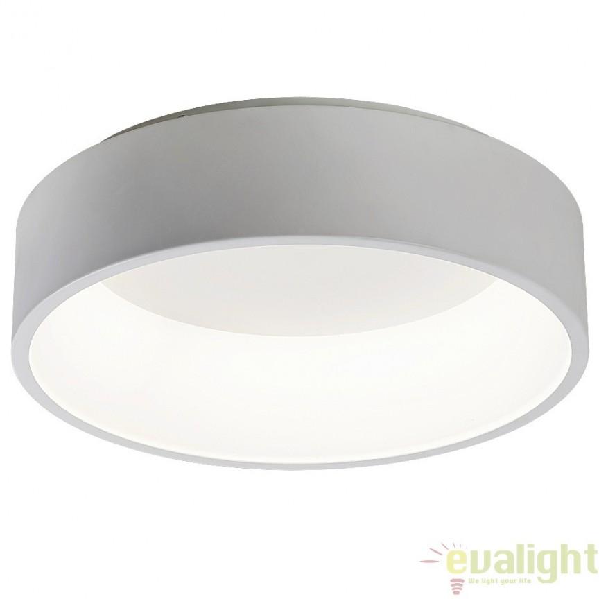Plafoniera LED design modern, finisaj alb mat, diametru 45,5cm, Adeline 2507 RX, Plafoniere LED, Spoturi LED, Corpuri de iluminat, lustre, aplice, veioze, lampadare, plafoniere. Mobilier si decoratiuni, oglinzi, scaune, fotolii. Oferte speciale iluminat interior si exterior. Livram in toata tara.  a