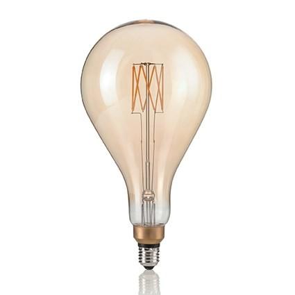 Bec de dimensiuni mari, cu filament LED VINTAGE XL E27 8W GOCCIA 130163, Becuri E27, Corpuri de iluminat, lustre, aplice, veioze, lampadare, plafoniere. Mobilier si decoratiuni, oglinzi, scaune, fotolii. Oferte speciale iluminat interior si exterior. Livram in toata tara.  a