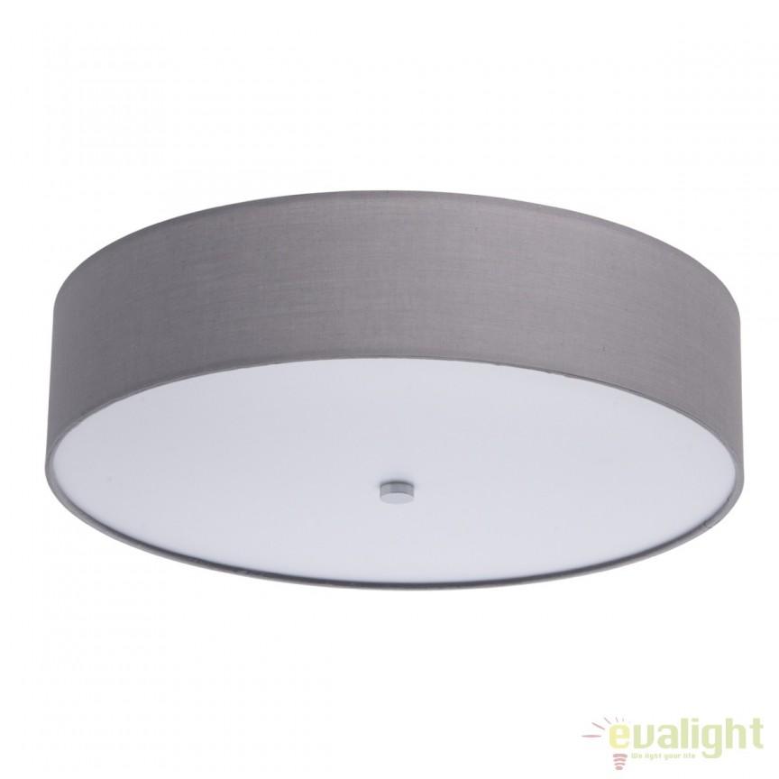 Plafoniera LED design modern diam.50cm Delphy gri 453011401 MW, Plafoniere LED, Spoturi LED, Corpuri de iluminat, lustre, aplice, veioze, lampadare, plafoniere. Mobilier si decoratiuni, oglinzi, scaune, fotolii. Oferte speciale iluminat interior si exterior. Livram in toata tara.  a
