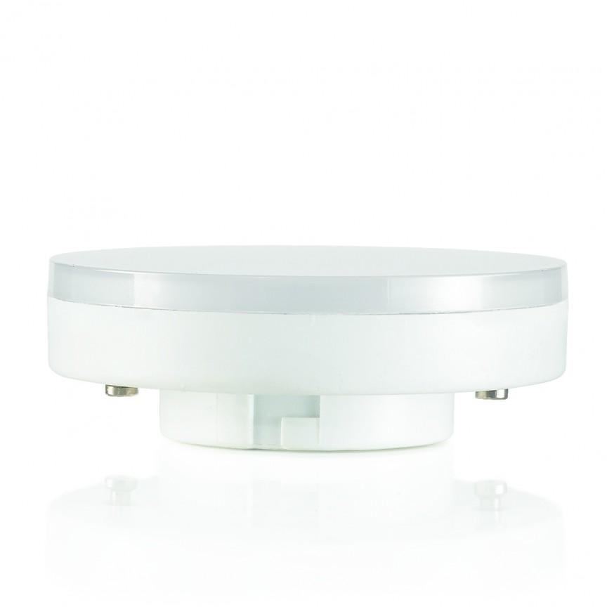 Bec LED GX53 9.5W 4000K 154008, Becuri MR16, GX, AR111, Corpuri de iluminat, lustre, aplice, veioze, lampadare, plafoniere. Mobilier si decoratiuni, oglinzi, scaune, fotolii. Oferte speciale iluminat interior si exterior. Livram in toata tara.  a