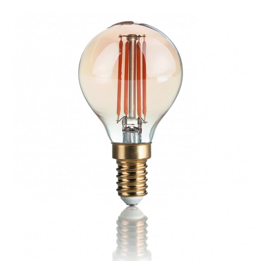 Bec LED VINTAGE E14 3.5W SFERA 151656, Becuri E14, Corpuri de iluminat, lustre, aplice, veioze, lampadare, plafoniere. Mobilier si decoratiuni, oglinzi, scaune, fotolii. Oferte speciale iluminat interior si exterior. Livram in toata tara.  a