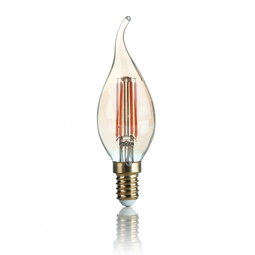 Bec LED VINTAGE E14 3.5W COLPO DI VENTO 151663, Becuri E14, Corpuri de iluminat, lustre, aplice, veioze, lampadare, plafoniere. Mobilier si decoratiuni, oglinzi, scaune, fotolii. Oferte speciale iluminat interior si exterior. Livram in toata tara.  a