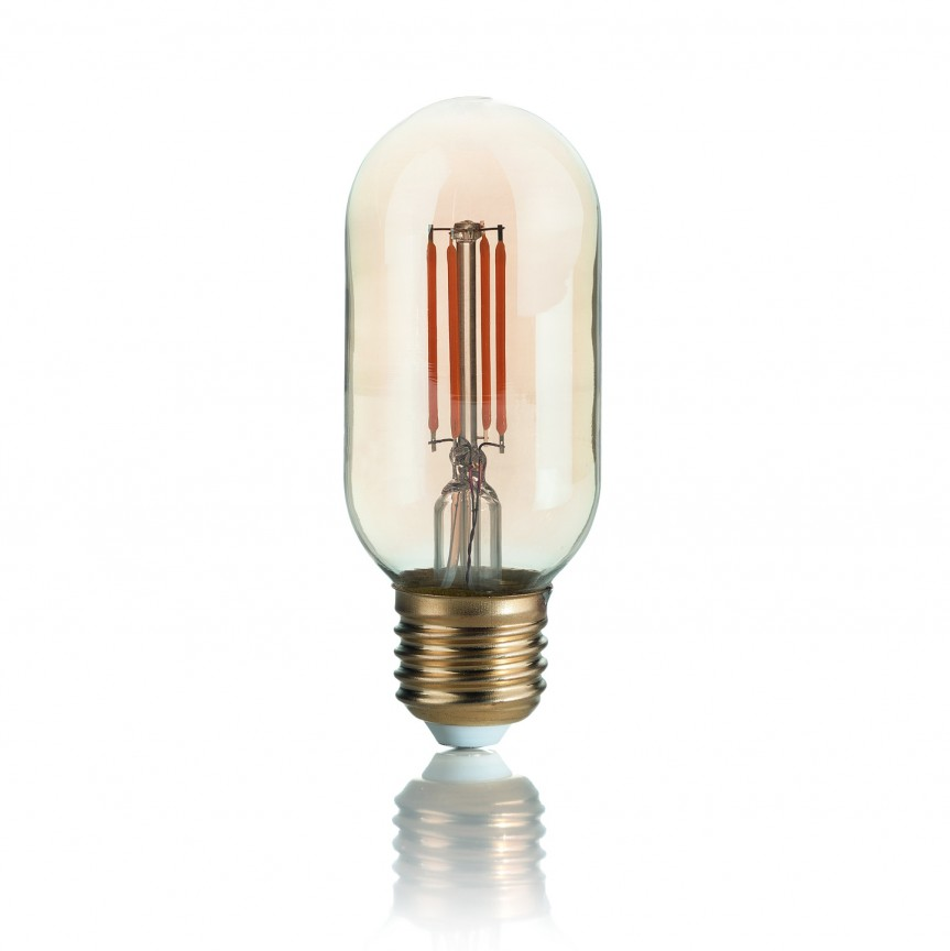Bec LED VINTAGE E27 4W BOMB 151700, Becuri E27, Corpuri de iluminat, lustre, aplice, veioze, lampadare, plafoniere. Mobilier si decoratiuni, oglinzi, scaune, fotolii. Oferte speciale iluminat interior si exterior. Livram in toata tara.  a