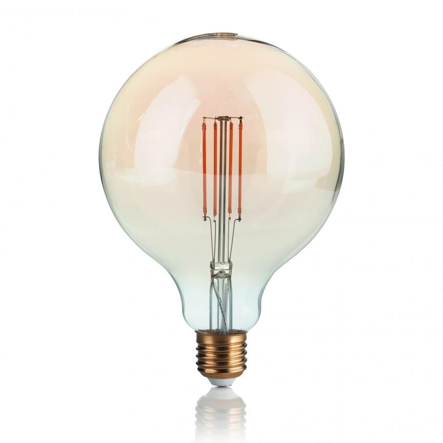 Bec LED VINTAGE E27 4W GLOBO BIG 151724, Becuri E27 LED pentru iluminat interior si exterior.⭐Cumpara online si ai livrare Acasa.✅Modele decorative vintage, LED si clasice cu filament Edison style.❤️Promotii la becuri E27 Economice si cu Halogen❗ Alege oferte speciale la Becuri cu soclu de tip E27 potrivite pentru corpurile de iluminat: casa, baie, terasa, balcon si gradina❗ Cele mai bune becuri si surse de iluminat inteligente: cu senzor de miscare (telecomanda), (solare) cu consum redus de energie, surse incandescente cu dulie si soclu normale (ceramica, sticla, plastic, aluminiu), LED dimabile cu lumina calda (3000K), lumina rece alba (6500K) si lumina neutra (4000K), lumina naturala, flux luminos cu lumeni multi, bec LED echivalent 60W / 100W / 150W tensinea curentului electric este de 12V fata de 220V (Volti), si durata mare de viata, becuri cu lumina puternica stralucitoare, colorate si multicolore, cu forma de lumanare, mari mari si rezistente la caldura si la apa, ce se aprinde instant la trecerea curentului electric, ieftine si de lux, cu garantie si de calitate deosebita la cel mai bun pret❗ a