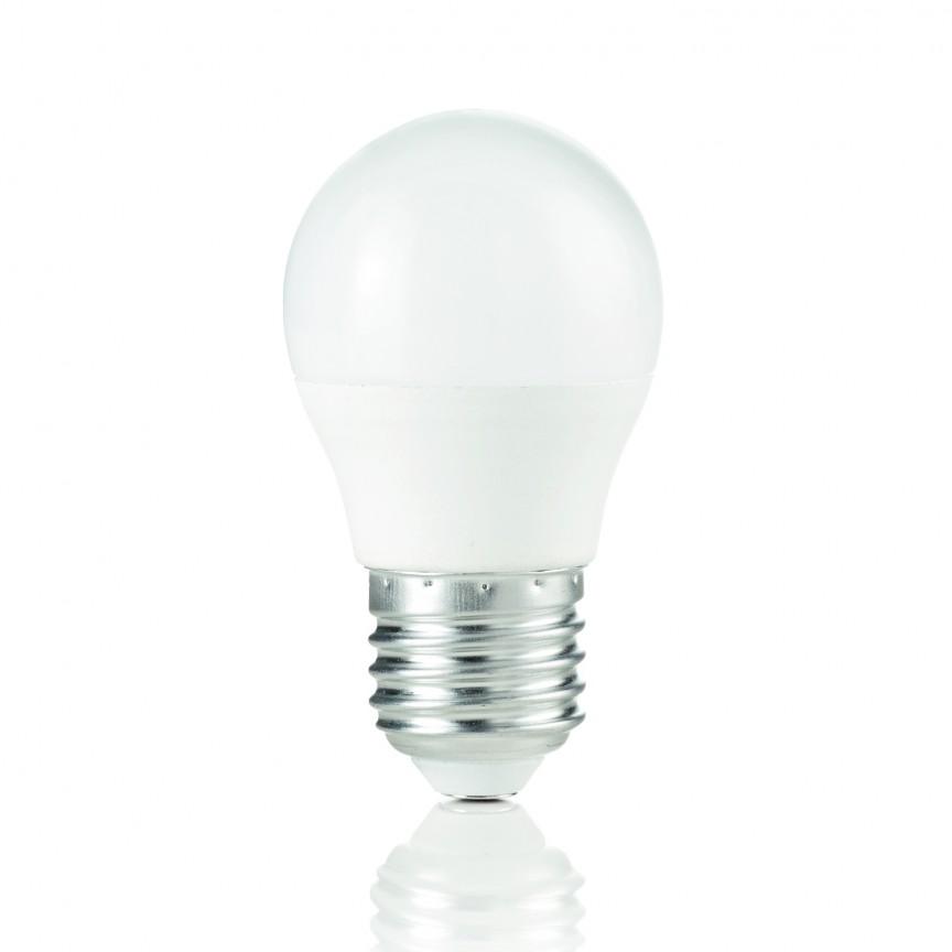 Bec LED POWER E27 7W SFERA 3000K 151755, Becuri E27, Corpuri de iluminat, lustre, aplice, veioze, lampadare, plafoniere. Mobilier si decoratiuni, oglinzi, scaune, fotolii. Oferte speciale iluminat interior si exterior. Livram in toata tara.  a