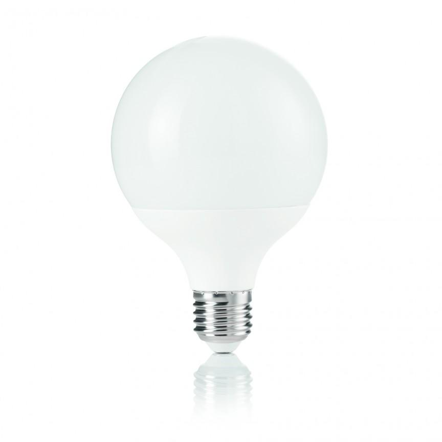 Bec LED POWER E27 12W GLOBO SMALL 3000K 151779, Becuri E27, Corpuri de iluminat, lustre, aplice, veioze, lampadare, plafoniere. Mobilier si decoratiuni, oglinzi, scaune, fotolii. Oferte speciale iluminat interior si exterior. Livram in toata tara.  a