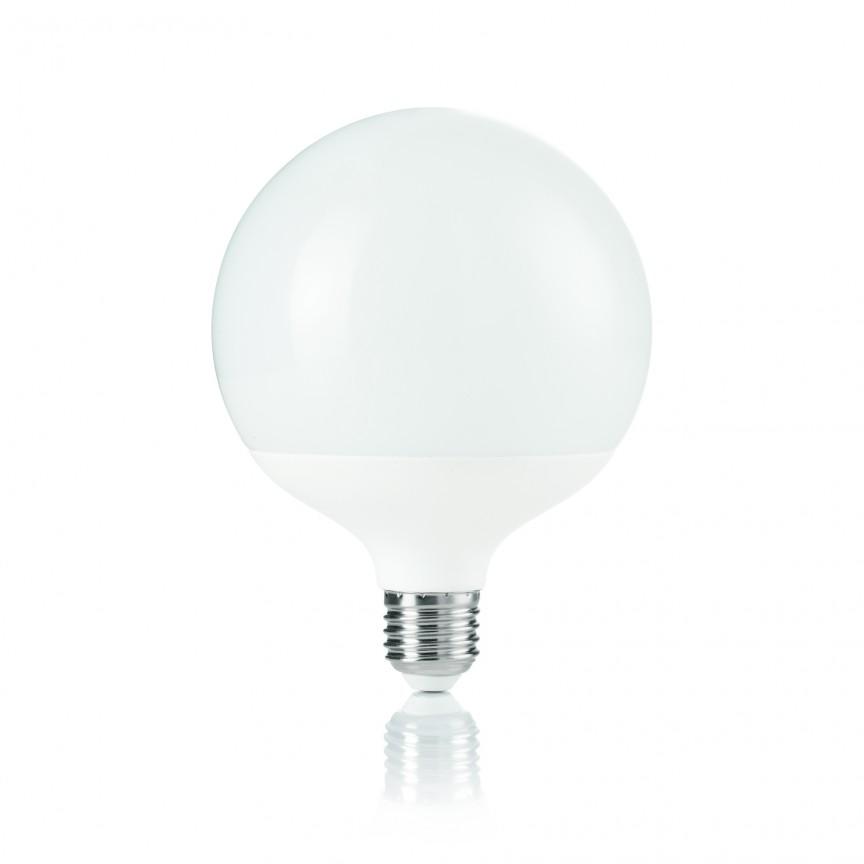 Bec LED POWER E27 15W GLOBO BIG 4000K 152004, Becuri E27, Corpuri de iluminat, lustre, aplice, veioze, lampadare, plafoniere. Mobilier si decoratiuni, oglinzi, scaune, fotolii. Oferte speciale iluminat interior si exterior. Livram in toata tara.  a
