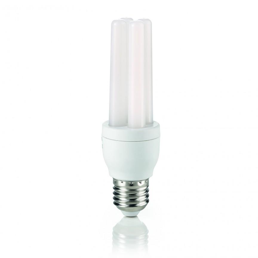 Bec LED POWER E27 8.5W 2U 3000K 151809, Becuri E27, Corpuri de iluminat, lustre, aplice, veioze, lampadare, plafoniere. Mobilier si decoratiuni, oglinzi, scaune, fotolii. Oferte speciale iluminat interior si exterior. Livram in toata tara.  a