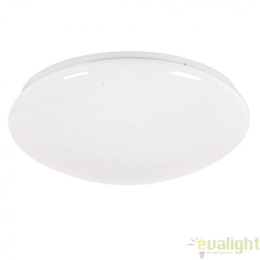 Aplica de perete, Plafoniera LED, finisaj alb, diametru 38cm, Liana 2495 RX, Aplice de perete LED, Corpuri de iluminat, lustre, aplice, veioze, lampadare, plafoniere. Mobilier si decoratiuni, oglinzi, scaune, fotolii. Oferte speciale iluminat interior si exterior. Livram in toata tara.  a