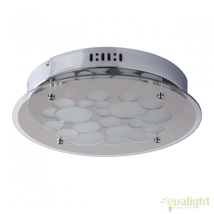 Plafoniera LED moderna diam.35cm Premier 374016101 MW, ILUMINAT INTERIOR LED , Corpuri de iluminat, lustre, aplice, veioze, lampadare, plafoniere. Mobilier si decoratiuni, oglinzi, scaune, fotolii. Oferte speciale iluminat interior si exterior. Livram in toata tara.  a