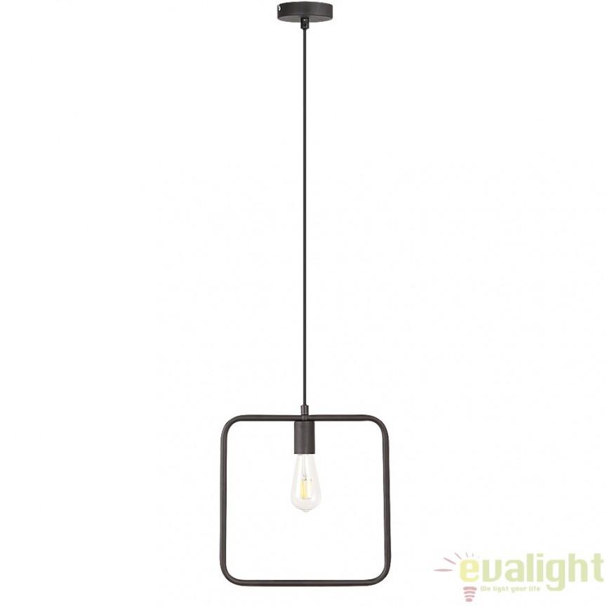 Pendul, Lustra design Industrial Style, finisaj negru, Levi 2570 RX,  a