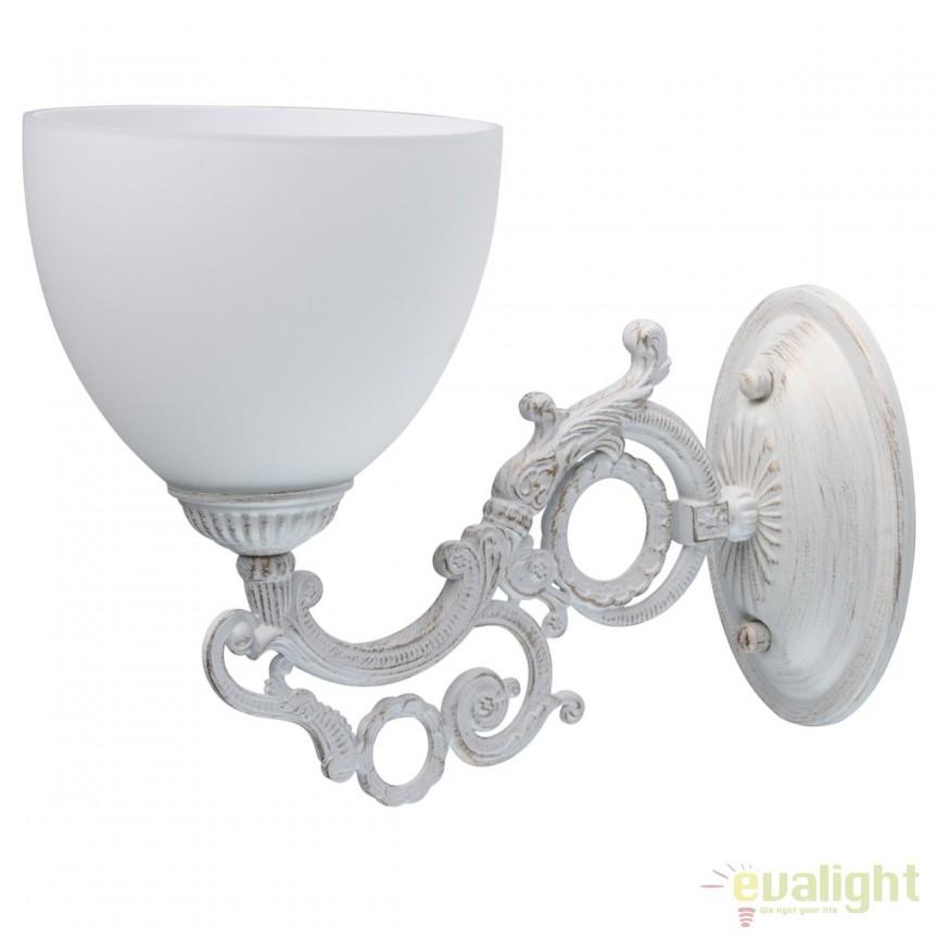 Aplica de perete stil clasic Ariadne 450026501 MW, Aplice de perete clasice, Corpuri de iluminat, lustre, aplice, veioze, lampadare, plafoniere. Mobilier si decoratiuni, oglinzi, scaune, fotolii. Oferte speciale iluminat interior si exterior. Livram in toata tara.  a