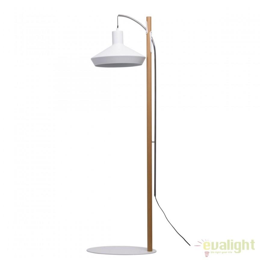 Lampadar LED / Lampa de podea stil retro Edgar 408041801 MW, Veioze LED, Lampadare LED, Corpuri de iluminat, lustre, aplice, veioze, lampadare, plafoniere. Mobilier si decoratiuni, oglinzi, scaune, fotolii. Oferte speciale iluminat interior si exterior. Livram in toata tara.  a