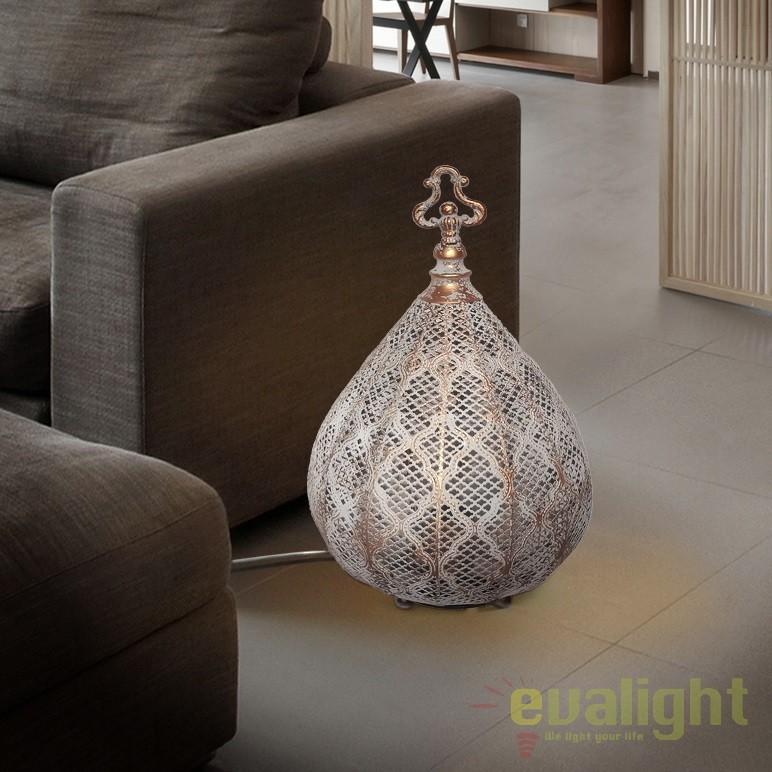 Lampa de podea decorativa design deosebit Nabila SV-442963, Iluminat design decorativ , Corpuri de iluminat, lustre, aplice, veioze, lampadare, plafoniere. Mobilier si decoratiuni, oglinzi, scaune, fotolii. Oferte speciale iluminat interior si exterior. Livram in toata tara.  a