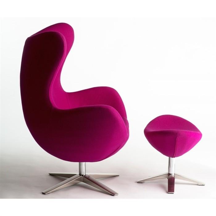 set fotoliu pivotant cu taburete tapiterie tesatura din casmir eg 66ot roz 572 seg66otpi sdm. Black Bedroom Furniture Sets. Home Design Ideas