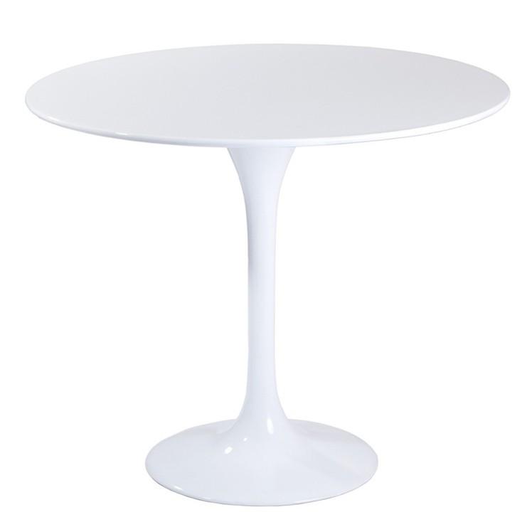 Masa rotunda eleganta TUL-LB90 90cm alb 164.MTULB90R SDM, Mese dining, Corpuri de iluminat, lustre, aplice, veioze, lampadare, plafoniere. Mobilier si decoratiuni, oglinzi, scaune, fotolii. Oferte speciale iluminat interior si exterior. Livram in toata tara.  a