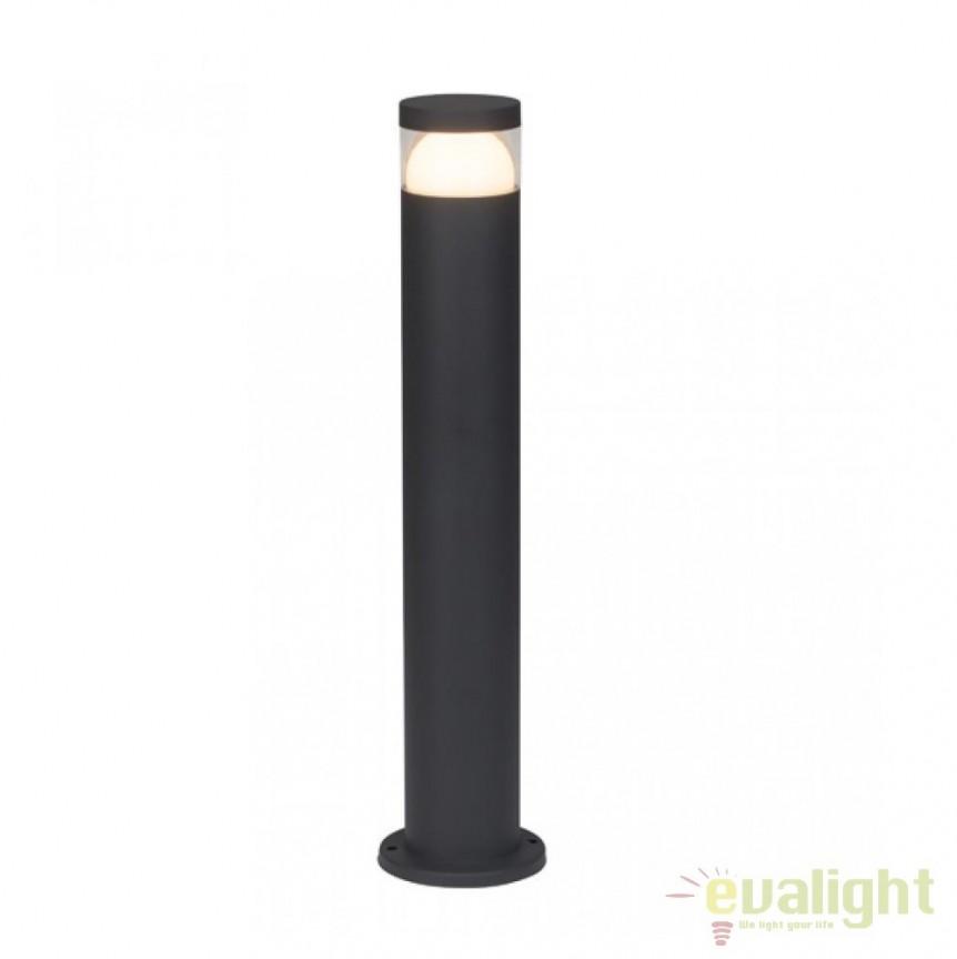 Stalp LED iluminat exterior IP44 Shiso H50 G44584/63 BL, Stalpi de iluminat exterior mici si medii , Corpuri de iluminat, lustre, aplice, veioze, lampadare, plafoniere. Mobilier si decoratiuni, oglinzi, scaune, fotolii. Oferte speciale iluminat interior si exterior. Livram in toata tara.  a