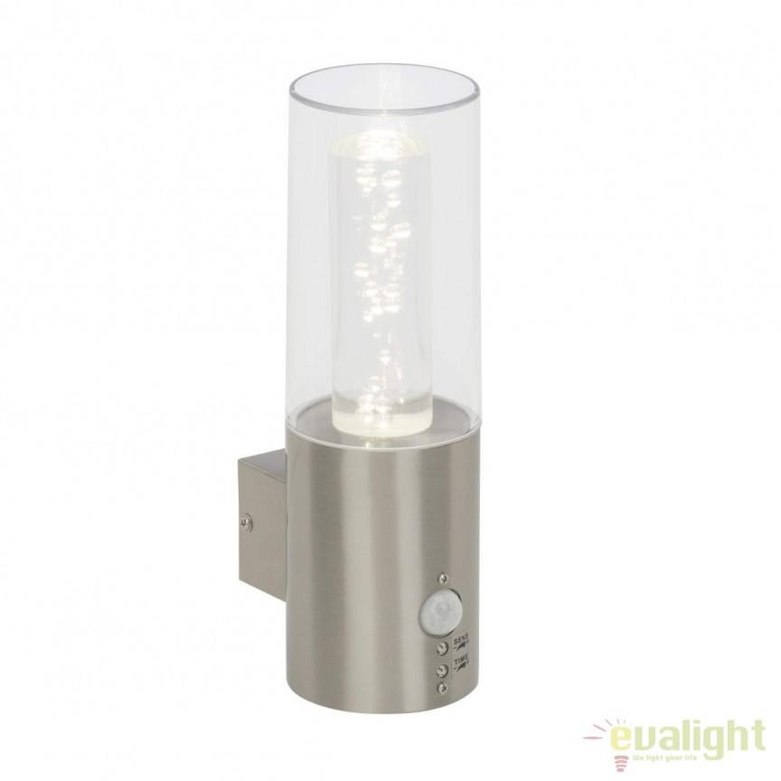 Aplica LED exterior cu senzor de miscare IP44 Arctic G96285/82 BL, Iluminat cu senzor de miscare, Corpuri de iluminat, lustre, aplice, veioze, lampadare, plafoniere. Mobilier si decoratiuni, oglinzi, scaune, fotolii. Oferte speciale iluminat interior si exterior. Livram in toata tara.  a