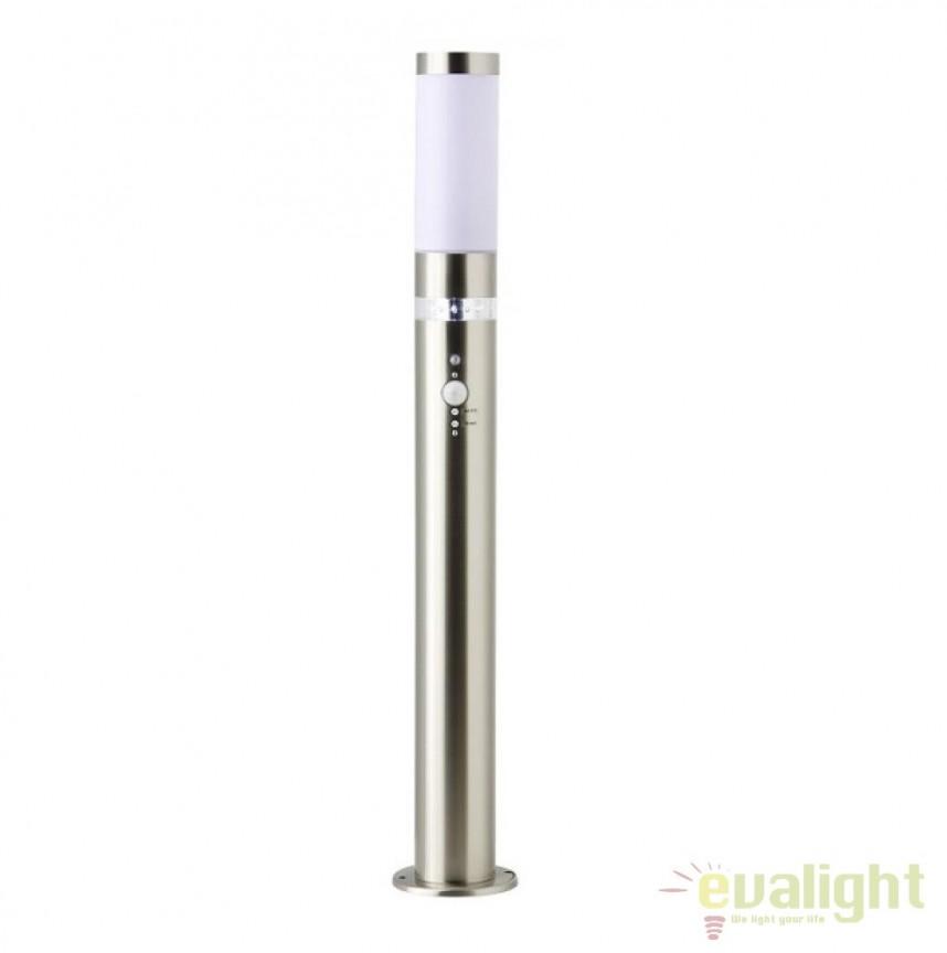Stalp LED iluminat exterior cu senzor IP44 Bole H78 G46799/82 BL, Iluminat cu senzor de miscare, Corpuri de iluminat, lustre, aplice, veioze, lampadare, plafoniere. Mobilier si decoratiuni, oglinzi, scaune, fotolii. Oferte speciale iluminat interior si exterior. Livram in toata tara.  a