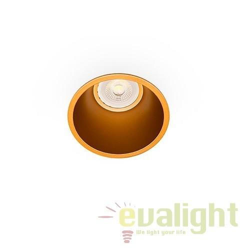 Spot incastrabil modern FRESH auriu 02200503 Faro Barcelona, Spoturi incastrate, aplicate - tavan / perete, Corpuri de iluminat, lustre, aplice, veioze, lampadare, plafoniere. Mobilier si decoratiuni, oglinzi, scaune, fotolii. Oferte speciale iluminat interior si exterior. Livram in toata tara.  a