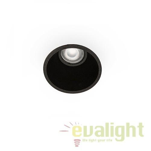 Spot incastrabil modern FRESH negru 02100502 Faro Barcelona, Spoturi incastrate, aplicate - tavan / perete, Corpuri de iluminat, lustre, aplice, veioze, lampadare, plafoniere. Mobilier si decoratiuni, oglinzi, scaune, fotolii. Oferte speciale iluminat interior si exterior. Livram in toata tara.  a