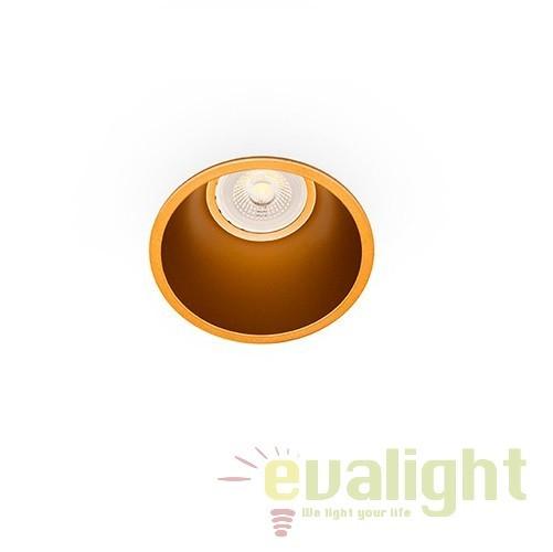 Spot incastrabil modern FRESH auriu 02100503 Faro Barcelona, Spoturi incastrate, aplicate - tavan / perete, Corpuri de iluminat, lustre, aplice, veioze, lampadare, plafoniere. Mobilier si decoratiuni, oglinzi, scaune, fotolii. Oferte speciale iluminat interior si exterior. Livram in toata tara.  a