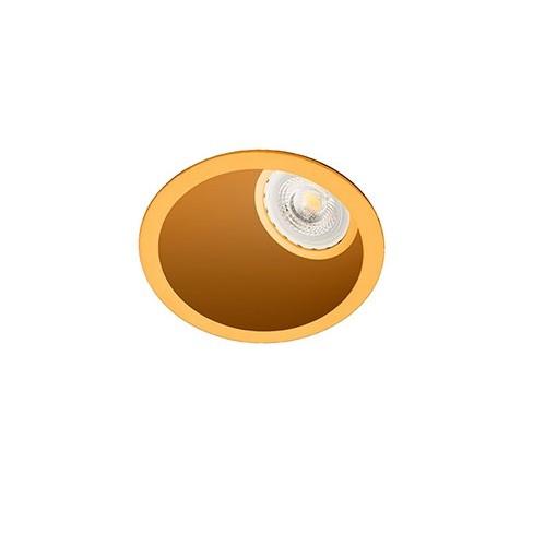 Spot incastrabil modern Wall washer auriu 02100603 Faro Barcelona , Spoturi incastrate, aplicate - tavan / perete, Corpuri de iluminat, lustre, aplice, veioze, lampadare, plafoniere. Mobilier si decoratiuni, oglinzi, scaune, fotolii. Oferte speciale iluminat interior si exterior. Livram in toata tara.  a