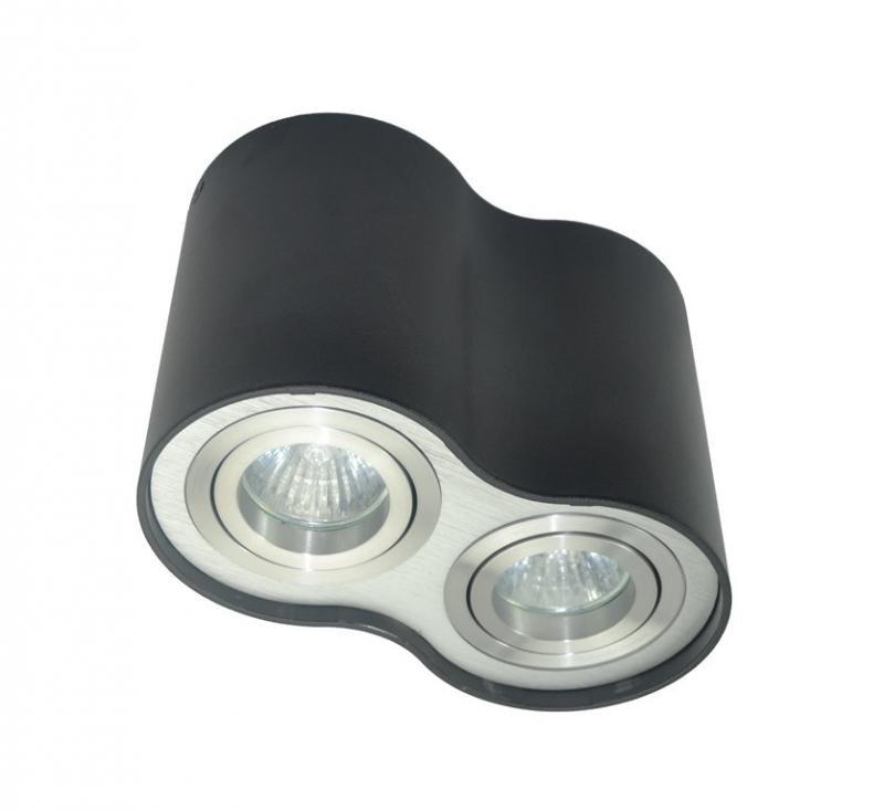 Spot modern aplicat Rondoo 50407-BK Zuma Line, Spoturi incastrate, aplicate - tavan / perete, Corpuri de iluminat, lustre, aplice a