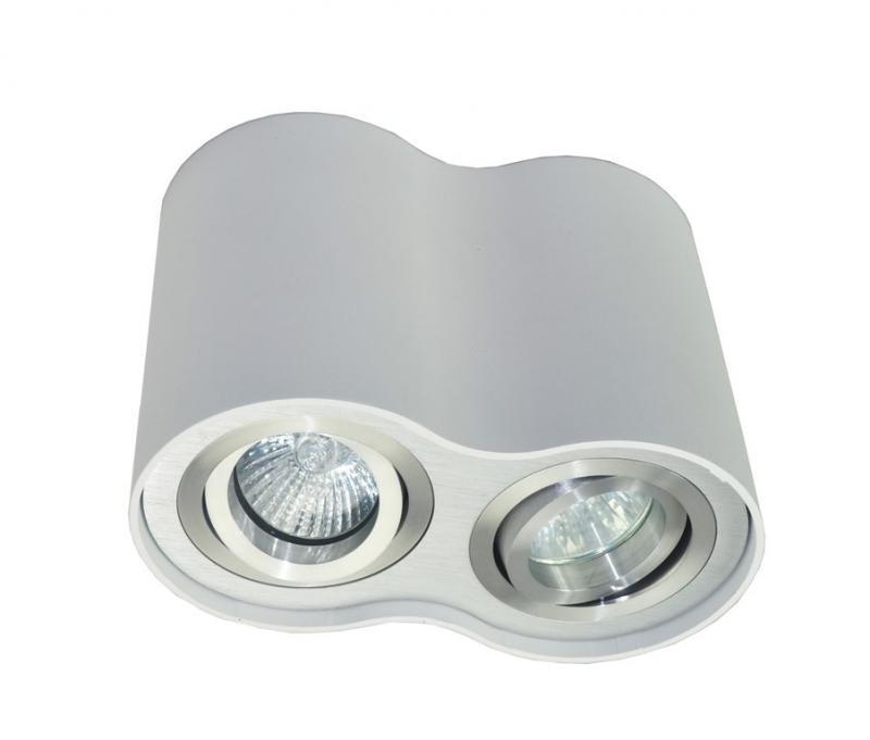 Spot modern aplicat  Rondoo 50407-WH Zuma Line, Spoturi incastrate, aplicate - tavan / perete, Corpuri de iluminat, lustre, aplice a