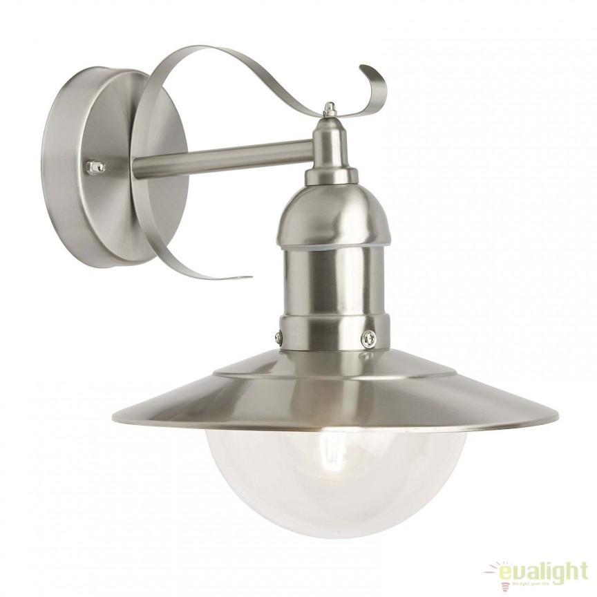 Aplica perete iluminat exterior IP44 Arto 96129/82 BL,  a