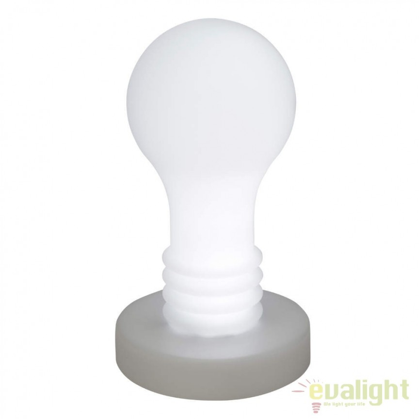 Corp iluminat LED RGB de exterior decorativ Evergreen G96284/72 BL, Iluminat design decorativ , Corpuri de iluminat, lustre, aplice, veioze, lampadare, plafoniere. Mobilier si decoratiuni, oglinzi, scaune, fotolii. Oferte speciale iluminat interior si exterior. Livram in toata tara.  a