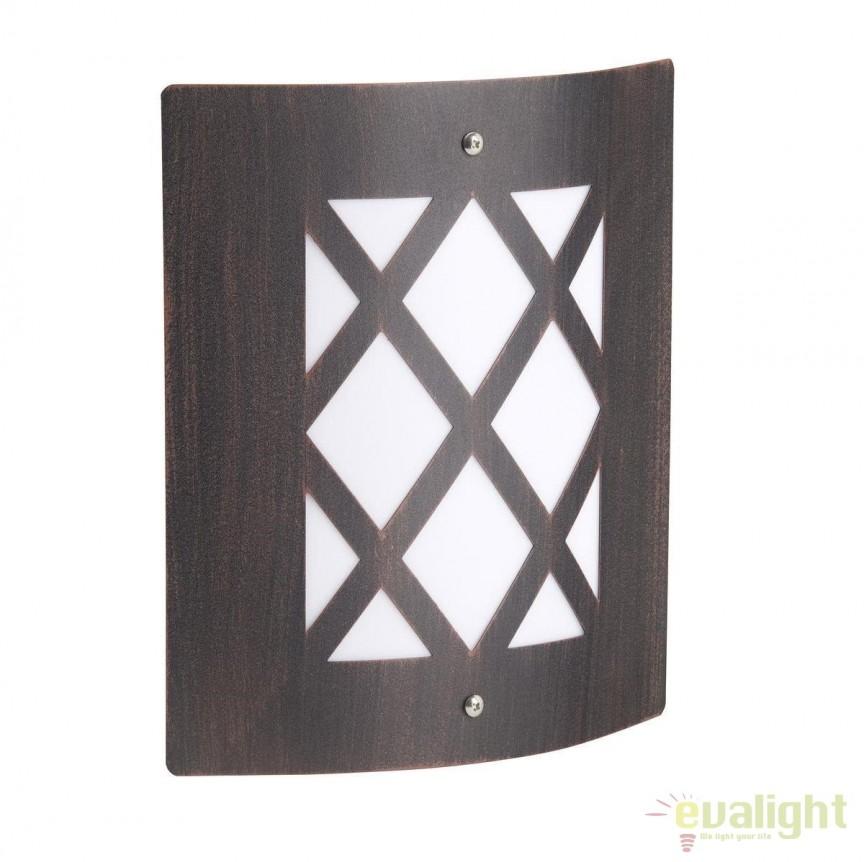 Aplica de perete exterior stil clasic IP44 Todd 47681/55 BL, Aplice de exterior clasice, rustice, traditionale, Corpuri de iluminat, lustre, aplice, veioze, lampadare, plafoniere. Mobilier si decoratiuni, oglinzi, scaune, fotolii. Oferte speciale iluminat interior si exterior. Livram in toata tara.  a
