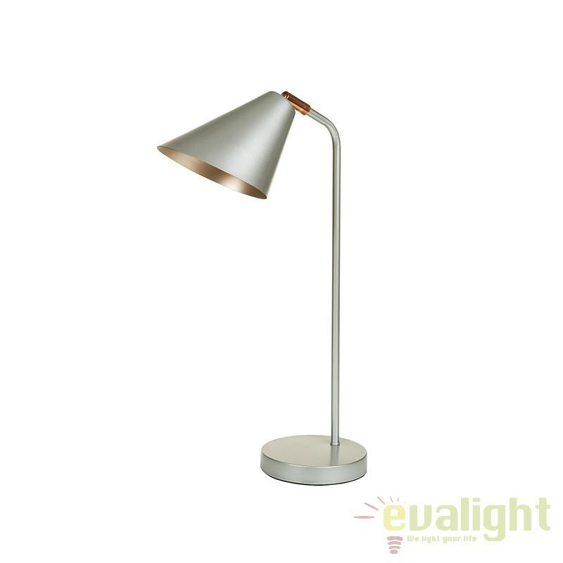Lampa de birou design elegant Lindy 45662 SAP, Veioze de Birou moderne, Corpuri de iluminat, lustre, aplice, veioze, lampadare, plafoniere. Mobilier si decoratiuni, oglinzi, scaune, fotolii. Oferte speciale iluminat interior si exterior. Livram in toata tara.  a
