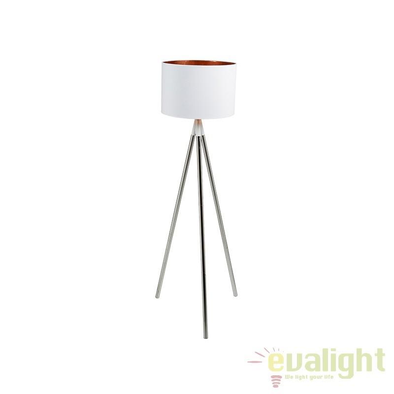 Lampadar alb design elegant Rayna 45681 SAP, Lampadare, Corpuri de iluminat, lustre, aplice, veioze, lampadare, plafoniere. Mobilier si decoratiuni, oglinzi, scaune, fotolii. Oferte speciale iluminat interior si exterior. Livram in toata tara.  a