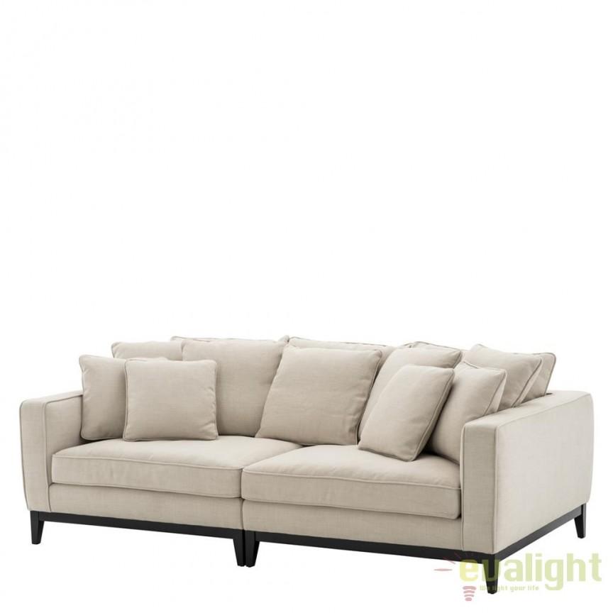 Canapea confortabila, design lux Principe 110938 HZ, MOBILA SI DECORATIUNI , Corpuri de iluminat, lustre, aplice, veioze, lampadare, plafoniere. Mobilier si decoratiuni, oglinzi, scaune, fotolii. Oferte speciale iluminat interior si exterior. Livram in toata tara.  a