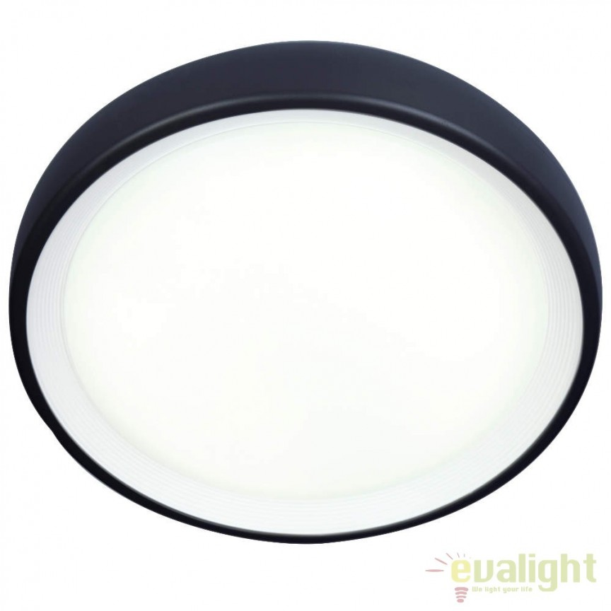 Plafoniera LED exterior IP65 Perth III G96296/06 BL, Plafoniere de exterior, Corpuri de iluminat, lustre, aplice, veioze, lampadare, plafoniere. Mobilier si decoratiuni, oglinzi, scaune, fotolii. Oferte speciale iluminat interior si exterior. Livram in toata tara.  a