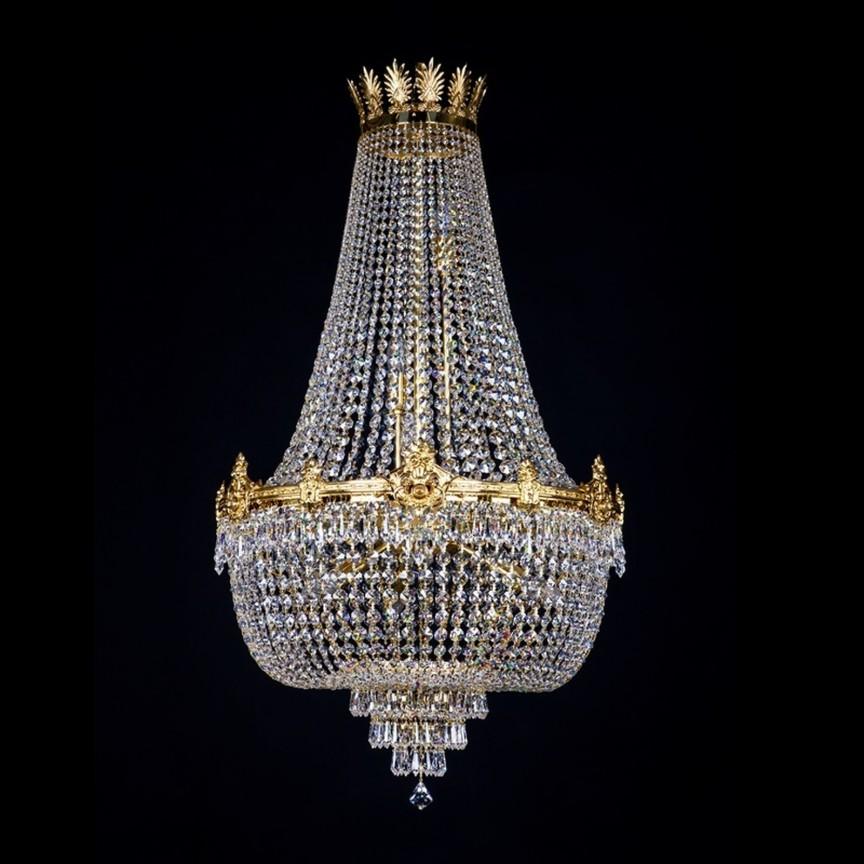 Lustra XL eleganta, cristal Bohemia EVITA 600x1000 CE, Candelabre, Lustre Cristal Bohemia, Corpuri de iluminat, lustre, aplice, veioze, lampadare, plafoniere. Mobilier si decoratiuni, oglinzi, scaune, fotolii. Oferte speciale iluminat interior si exterior. Livram in toata tara.  a