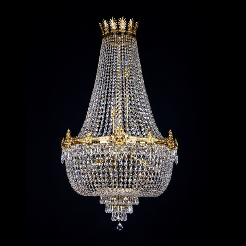 Lustra XL eleganta, cristal Swarovski Spectra EVITA 600x1000 SP, Lustre Imperial Cristal Bohemia, Corpuri de iluminat, lustre, aplice, veioze, lampadare, plafoniere. Mobilier si decoratiuni, oglinzi, scaune, fotolii. Oferte speciale iluminat interior si exterior. Livram in toata tara.  a