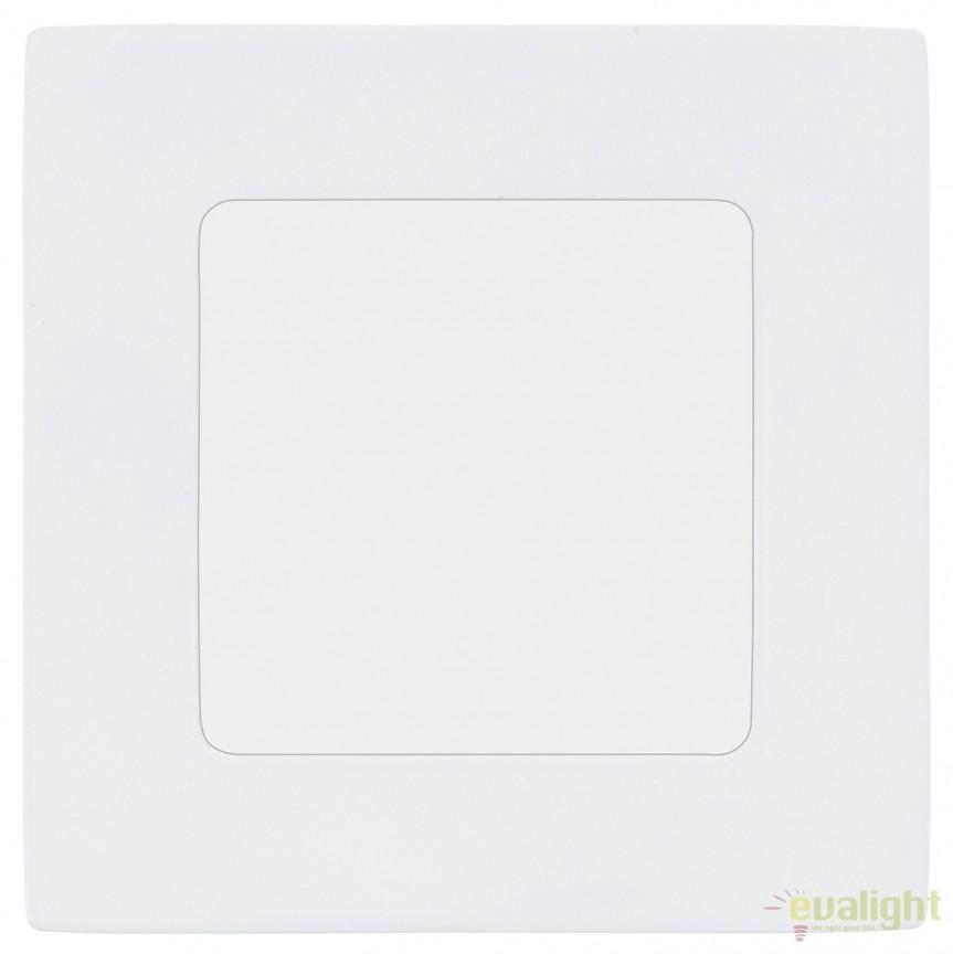 Spot incastrabil, iluminat LED 3000K, 12x12cm, FUEVA 1 94053 EL, Spoturi LED incastrate, aplicate, Corpuri de iluminat, lustre, aplice, veioze, lampadare, plafoniere. Mobilier si decoratiuni, oglinzi, scaune, fotolii. Oferte speciale iluminat interior si exterior. Livram in toata tara.  a
