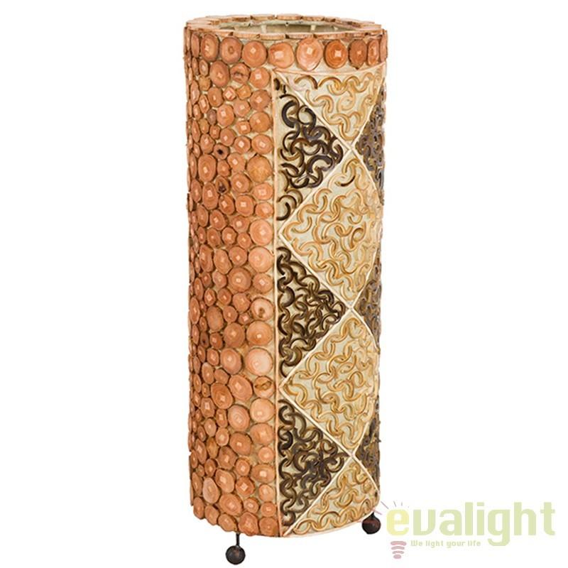 Lampadar din bambus design vintage Johnnie 46120 SAP, Cele mai noi produse 2017 a