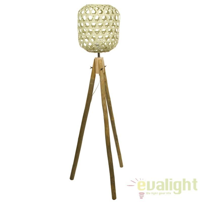 Lampadar din lemn de bambus Jeffie 44997 SAP, Cele mai noi produse 2017 a