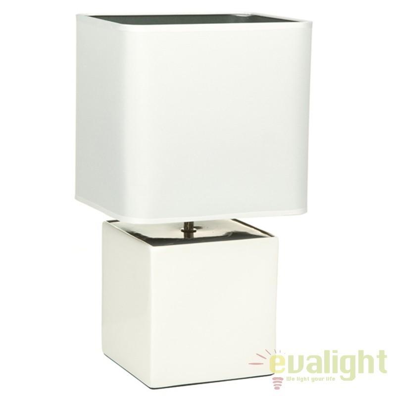 Lampa de masa din ceramica Fleta 43881 SAP, Veioze, Lampi de masa, Corpuri de iluminat, lustre, aplice, veioze, lampadare, plafoniere. Mobilier si decoratiuni, oglinzi, scaune, fotolii. Oferte speciale iluminat interior si exterior. Livram in toata tara.  a