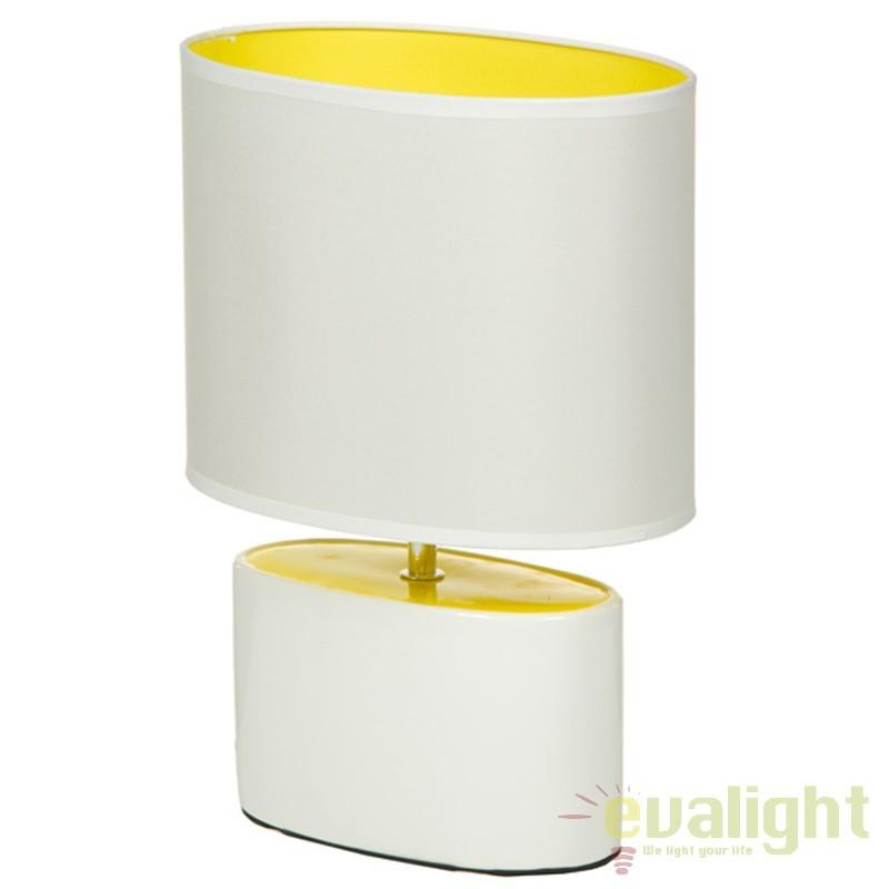 Lampa de masa design modern Ferne 43884 SAP, Veioze, Lampi de masa, Corpuri de iluminat, lustre, aplice, veioze, lampadare, plafoniere. Mobilier si decoratiuni, oglinzi, scaune, fotolii. Oferte speciale iluminat interior si exterior. Livram in toata tara.  a