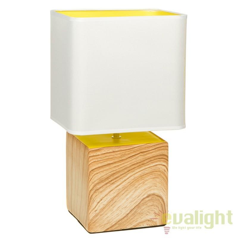 Lampa de masa din ceramica Felica 43888 SAP, Veioze, Lampi de masa, Corpuri de iluminat, lustre, aplice, veioze, lampadare, plafoniere. Mobilier si decoratiuni, oglinzi, scaune, fotolii. Oferte speciale iluminat interior si exterior. Livram in toata tara.  a