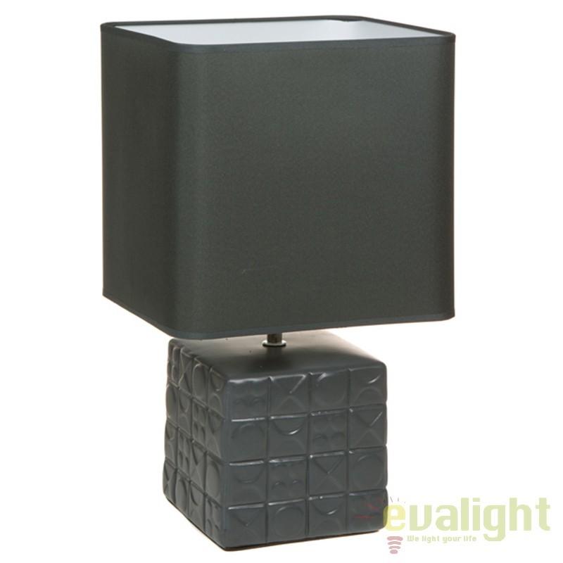 Lampa de masa din ceramica design elegant Fran 43893 SAP, Veioze, Lampi de masa, Corpuri de iluminat, lustre, aplice, veioze, lampadare, plafoniere. Mobilier si decoratiuni, oglinzi, scaune, fotolii. Oferte speciale iluminat interior si exterior. Livram in toata tara.  a