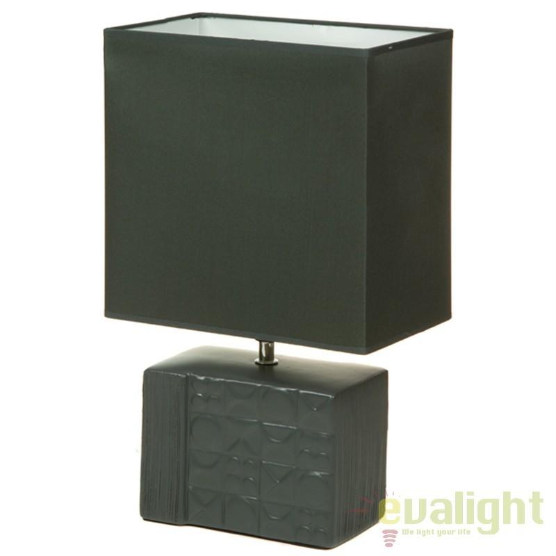 Lampa de masa din ceramica design elegant Fran 43895 SAP, Veioze, Lampi de masa, Corpuri de iluminat, lustre, aplice, veioze, lampadare, plafoniere. Mobilier si decoratiuni, oglinzi, scaune, fotolii. Oferte speciale iluminat interior si exterior. Livram in toata tara.  a