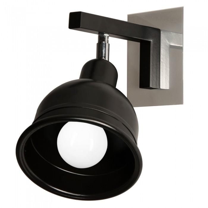 Aplica moderna cu spot directionabil, BERONI negru BN/K/1/B KM, Spoturi - iluminat - cu 1 spot, Corpuri de iluminat, lustre, aplice, veioze, lampadare, plafoniere. Mobilier si decoratiuni, oglinzi, scaune, fotolii. Oferte speciale iluminat interior si exterior. Livram in toata tara.  a